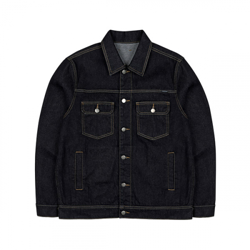 캉골(KANGOL) Denim Trucker Jacket 8508 DEEP WATER BLUE