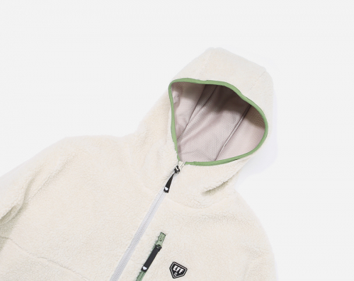 커버낫(COVERNAT) COVERNAT x EFF BOA WARM UP JACKET IV/OL