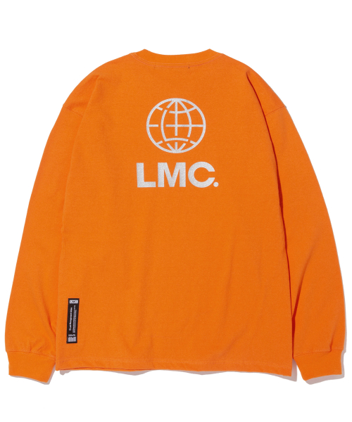 엘엠씨(LMC) LMC GLITTER LOGO LONG SLV TEE orange