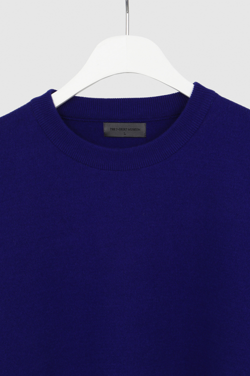 더 티셔츠 뮤지엄(THE T-SHIRT MUSEUM) 19ss essential wool knit [royal blue]