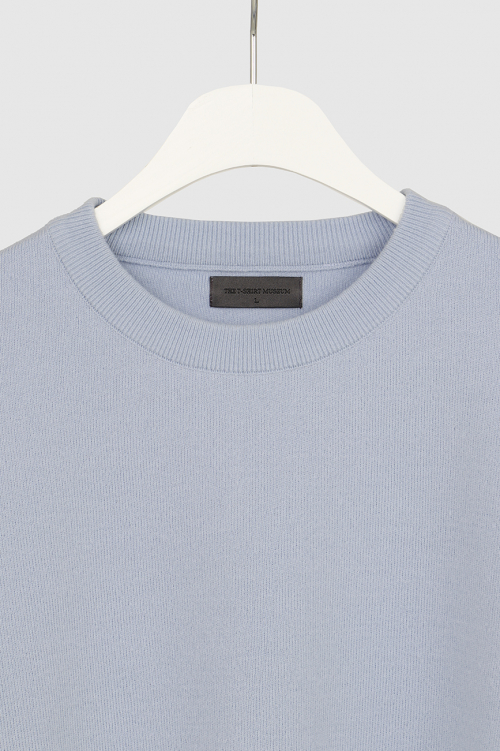 더 티셔츠 뮤지엄(THE T-SHIRT MUSEUM) 19ss essential wool knit [sky blue]
