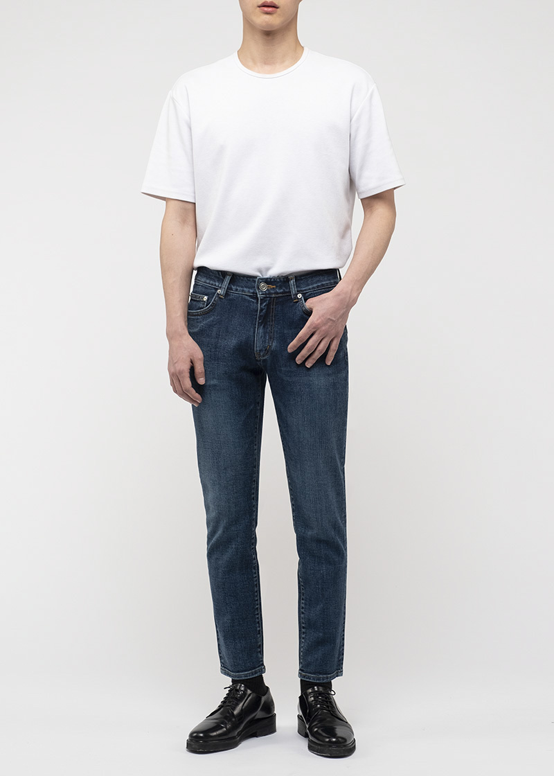 브랜디드(BRANDED) 1916 RIVER STR JEANS [CROP SLIM]