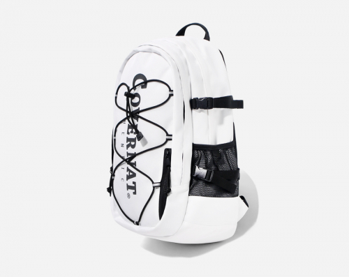 커버낫(COVERNAT) CORDURA AUTHENTIC LOGO RUCK SACK WHITE