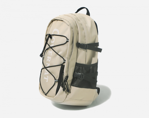 커버낫(COVERNAT) CORDURA AUTHENTIC LOGO RUCK SACK BEIGE