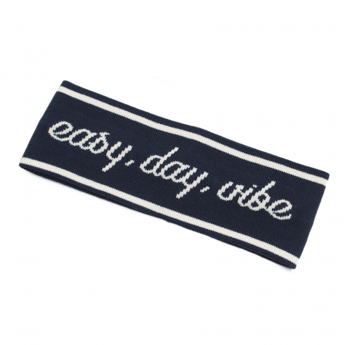 로맨틱크라운(ROMANTIC CROWN) Easy Day Vibe Hair Band_Navy