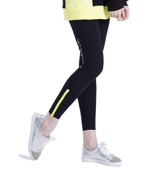메리먼트(MERRIMENT) MMM Zipper Leggings (YELLOW)