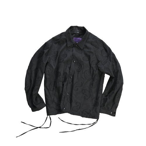 비슬로우 퍼플(BESLOW PURPLE) 19SS COMFY COACH JACKET BLACK