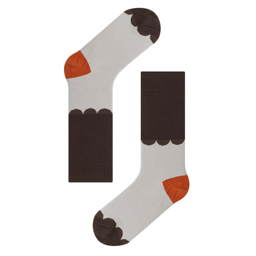 삭스어필(SOCKS APPEAL) KBP lace brown