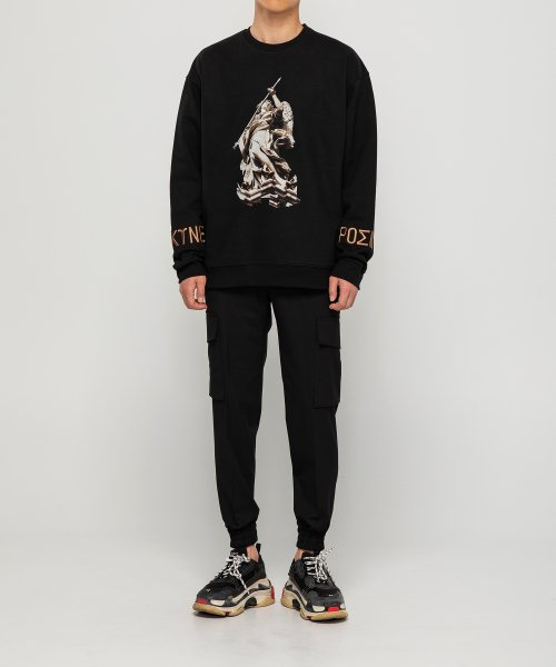 램바이디(LAMB BY D) Angel Sweatshirt Gold Black V2