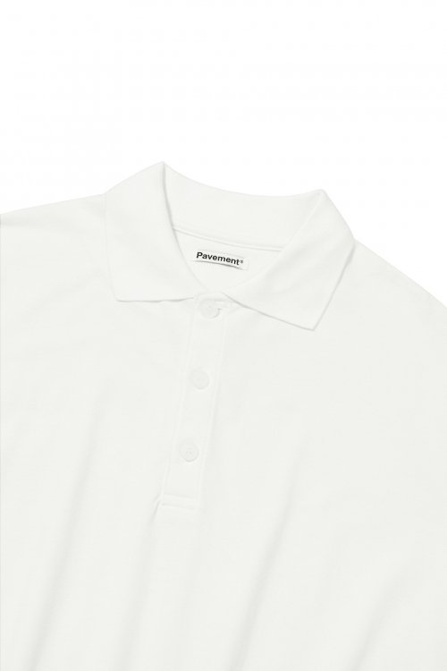 페이브먼트(PAVEMENT) PK SHORT SLEEVE IS [IVORY]