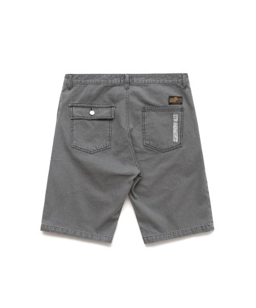 큐티에잇(QT8) KP Light Washing Denim Short (Black)