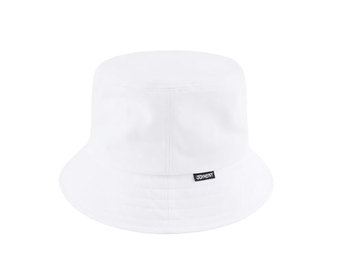 조이먼트(JOYMENT) LABEL BUCKET HAT (WH)