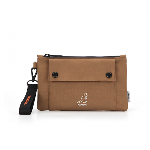 캉골(KANGOL) Keeper Ⅶ Wallet Pouch 5031 TAN
