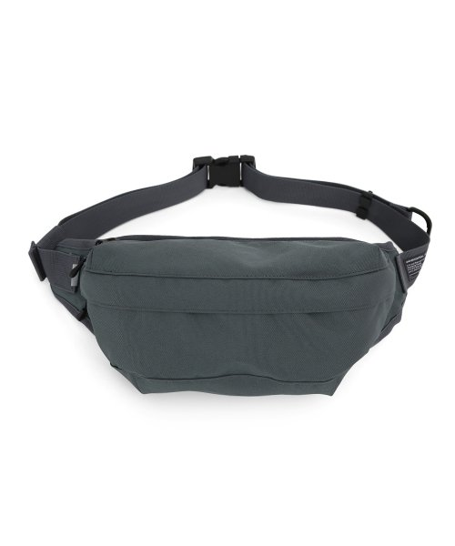 언더컨트롤(UNDERCONTROL) CROSS BODY BAG / COATED P / CHARCOAL