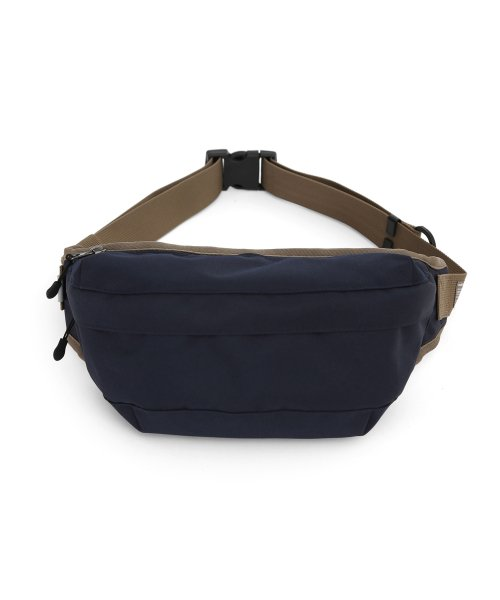 언더컨트롤(UNDERCONTROL) CROSS BODY BAG / COATED P / NAVY