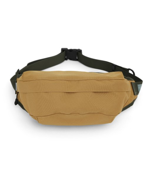 언더컨트롤(UNDERCONTROL) CROSS BODY BAG / COATED P / MUSTARD