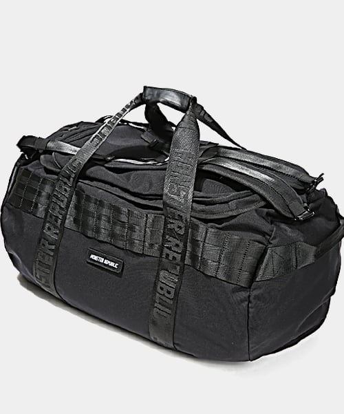 몬스터리퍼블릭(MONSTER REPUBLIC) MASTERPIECE DUFFEL BAG / BLACK