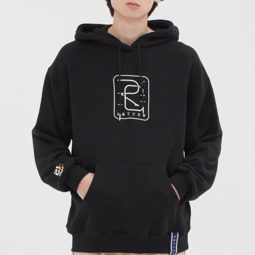 로맨틱크라운(ROMANTIC CROWN) RC BIG LOGO HOOD_BLACK