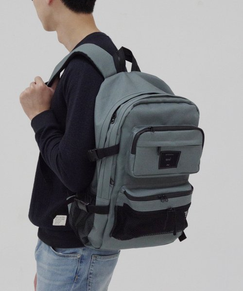 톰투머로우(TOMTOMORROW) all day backpack [gy]
