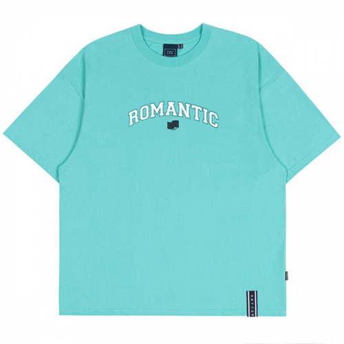 로맨틱크라운(ROMANTIC CROWN) ROMANTIC ARCH LOGO TEE_MINT